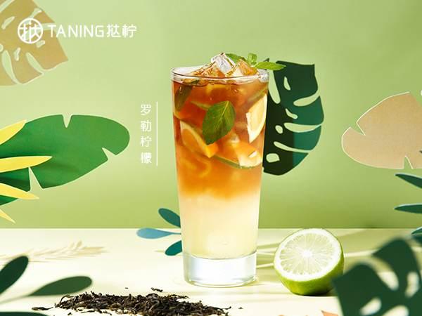 罗勒柠檬茶